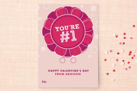 Prize Ribbon Classroom Valentine's Cards