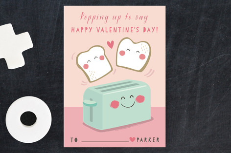 Toaster Pops Classroom Valentine's Cards
