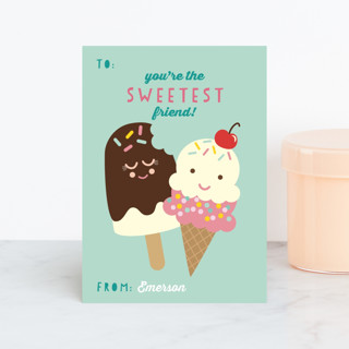 Sweetest Friend Classroom Valentine's Cards