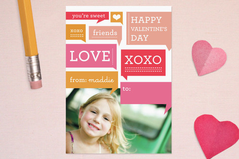 Chatter Classroom Valentine's Cards