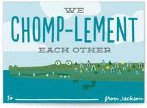 Chomp-lementary by Erica Krystek