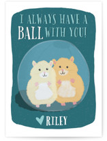 A Ball with You by One Swell Studio