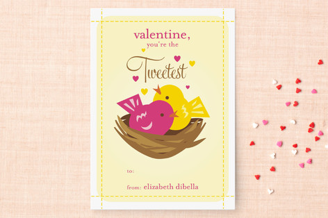 Lil Tweets Classroom Valentine's Day Cards