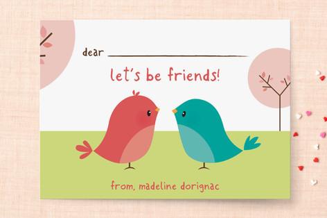 Happy Birdie Classroom Valentine's Cards