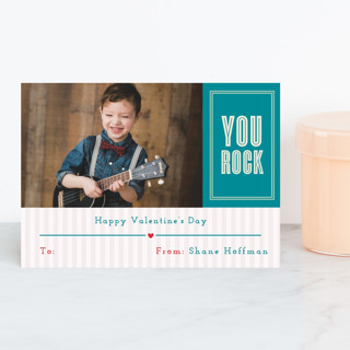 You Rock Classroom Valentine's Cards