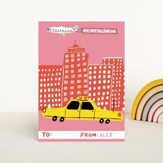 Cityscape Classroom Valentine's Cards