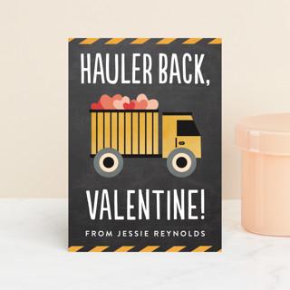 Hauler Back Classroom Valentine's Cards
