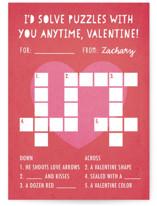 Valentine Crossword by Hooray Creative