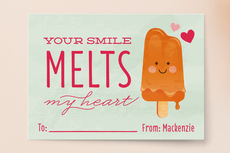 Melt My Heart Classroom Valentine's Cards