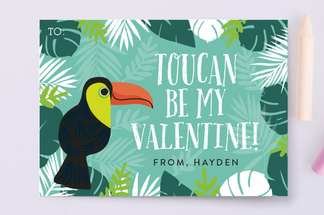 Toucan Be Mine Classroom Valentine's Cards