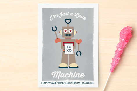Love Machine Classroom Valentine's Cards