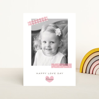 Washi Hearts Classroom Valentine's Cards