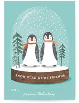little penguins snowglo... by Karidy Walker