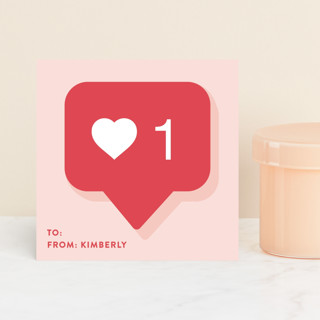 Instagram Like Classroom Valentine's Cards