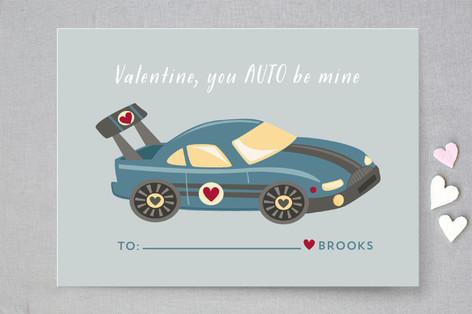 Auto Classroom Valentine's Cards
