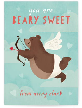 Cupid Classroom Valentine's Day Cards
