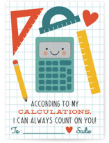 According to My Calcula... by One Swell Studio