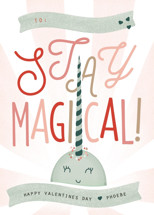 Stay Magical Classroom Valentine's Day Cards