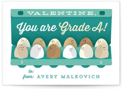 Grade A Friends Classroom Valentine's Day Cards