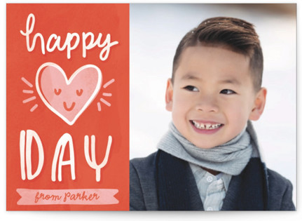 Happy Heart Day Classroom Valentine's Day Cards