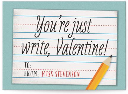 Penmanship Classroom Valentine's Day Cards