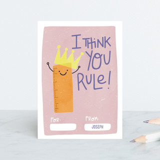You Rule! Classroom Valentine's Cards