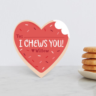 Sugar Cookie Classroom Valentine's Cards