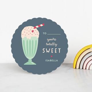 Ice Cream Sundae Classroom Valentine's Cards