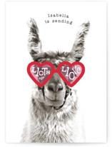 llama llove by Baumbirdy