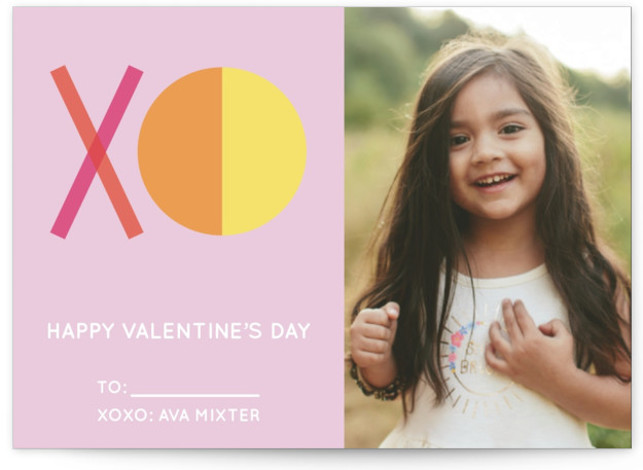 XO Card Valentine's Day Cards