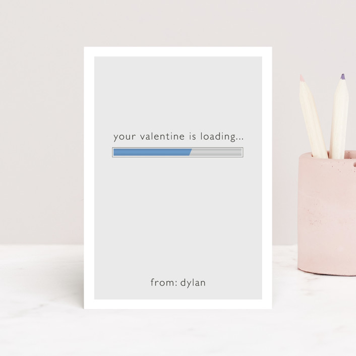 """""""Loading"""" - Classroom Valentine's Cards in Cyber by Bethany Anderson."""