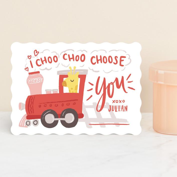 """bernina"" - Classroom Valentine's Cards in Cherry by chocomocacino."