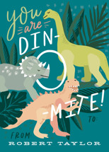 You are Dino-mite! Classroom Valentine's Day Cards By Alethea and Ruth
