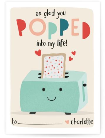 PopTarts Classroom Valentine's Day Cards