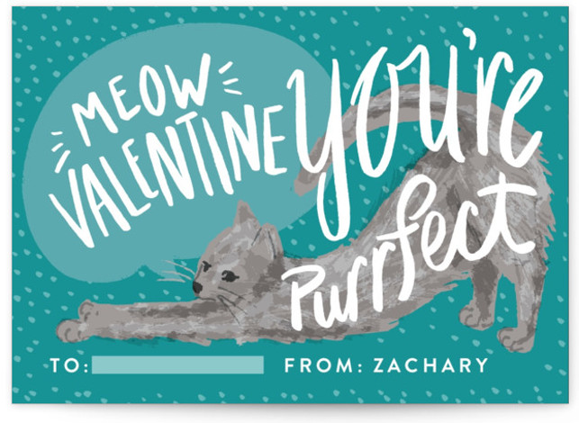 Puuurfect Classroom Valentine's Day Cards