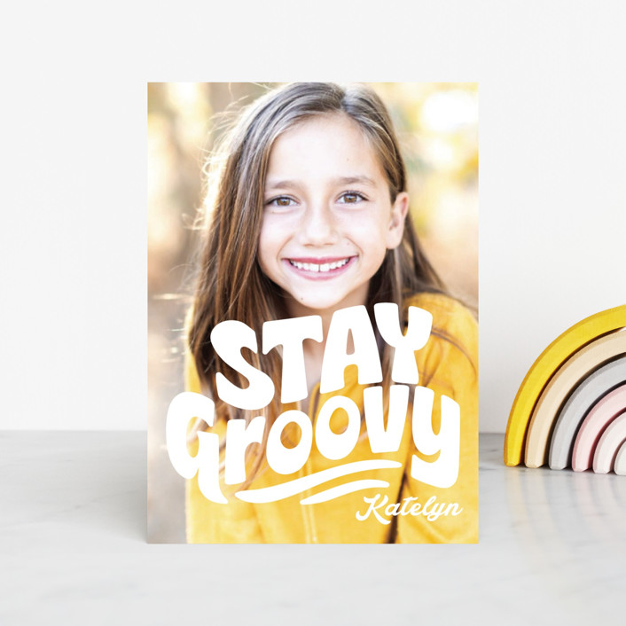 """""""Stay Groovy"""" - Classroom Valentine's Cards in Cloud by Jessie Steury."""