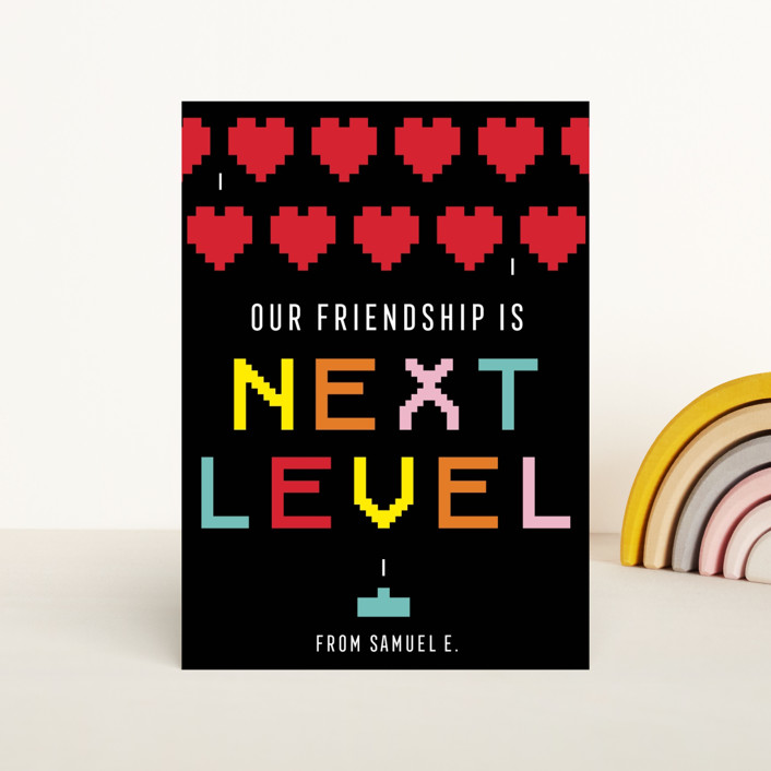 """""""next level"""" - Classroom Valentine's Cards in Primary by Loree Mayer."""