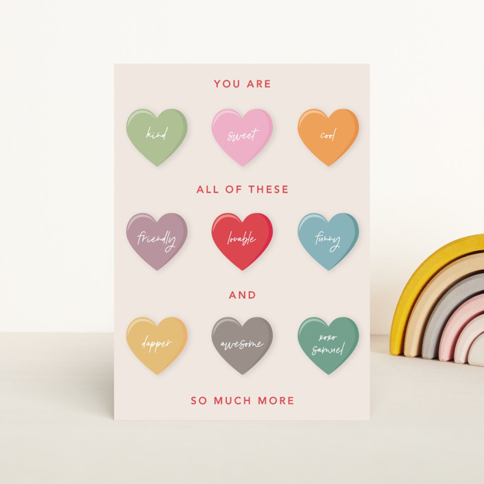 """Love Candy"" - Classroom Valentine's Cards in Ruby by Mansi Verma."
