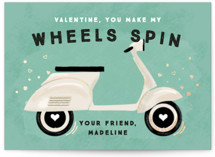my wheels spin by Rebecca Durflinger