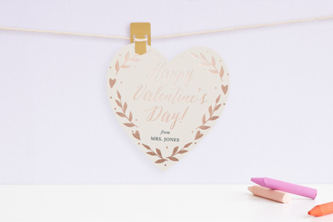 Sweet Heart Foil Valentine Cards