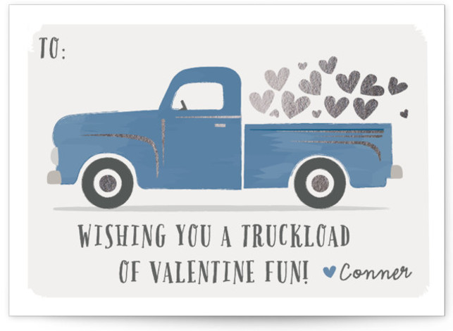 Truckload Of Fun Valentine's Day Cards