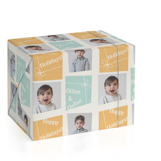 All Wrapped Up Personalized Wrapping Paper