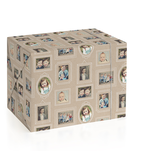 Krafted Frames Personalized Wrapping Paper