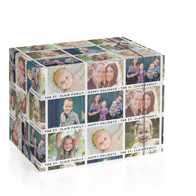 The Gangs All Here Personalized Wrapping Paper