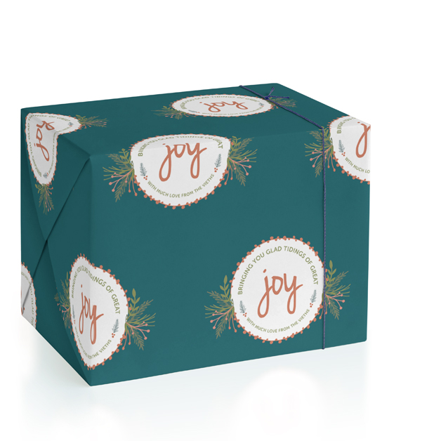 Wrapped with Joy by Allison Dowlen