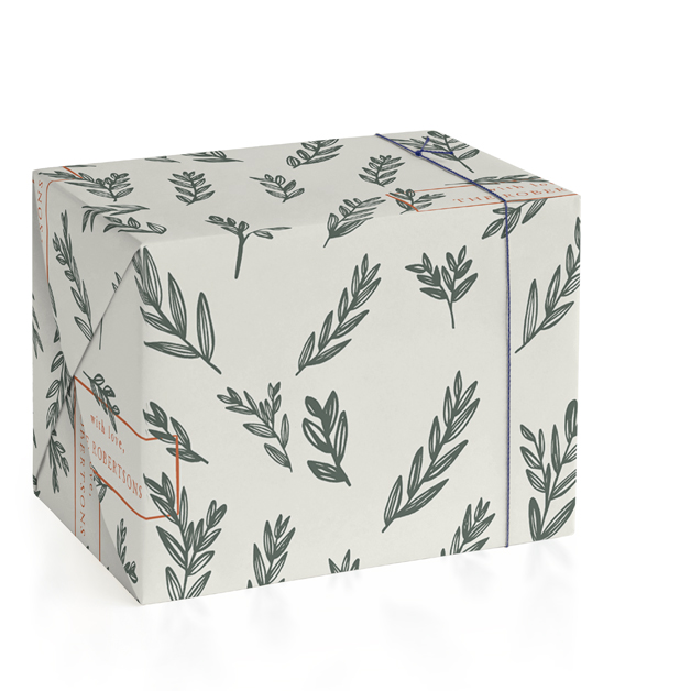 Wrapping paper and other wrapping supplies