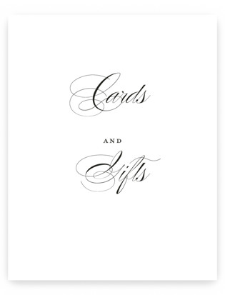 scripted ampersand Small Signs