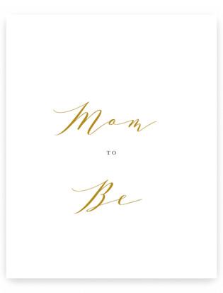 Elegant Mom Small Signs