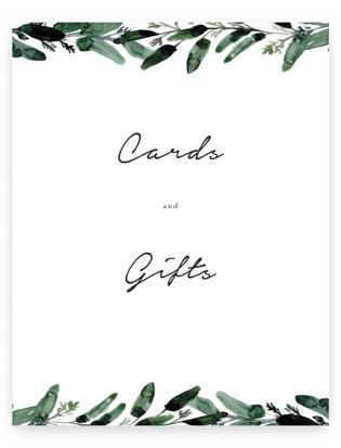 Gilded Eucalyptus Small Signs
