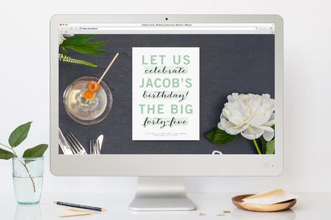Birthday Highlights Birthday Party Online Invitations